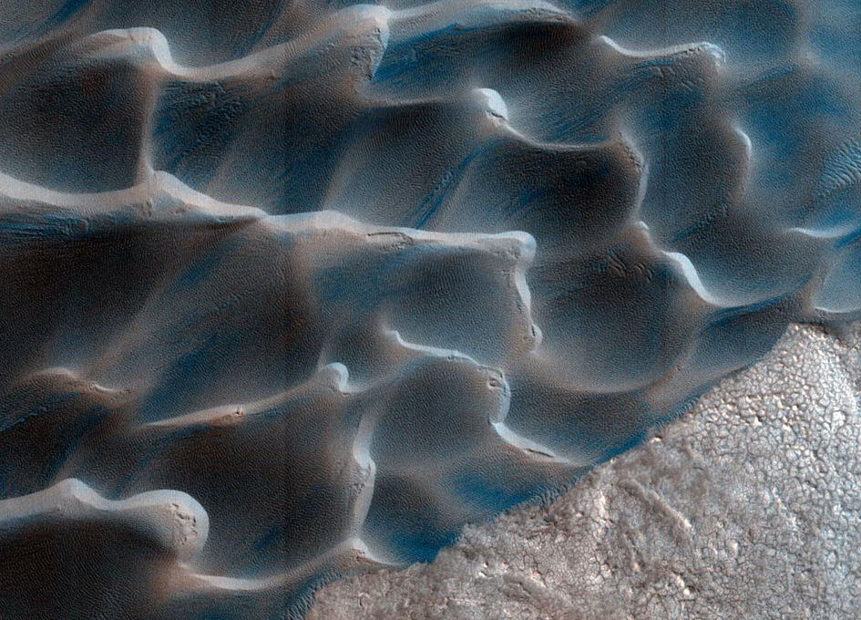 On Mars, Sands Shift To A Different Drum