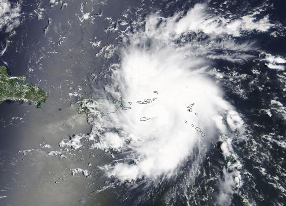 Watching Dorian Become A Hurricane From Space
