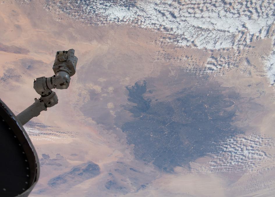 Libya and the Sahara Viewed From Orbit