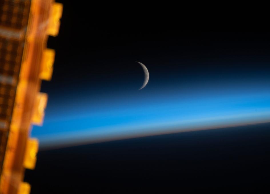 NASA's Next Destination Looms Outside An Orbital Window