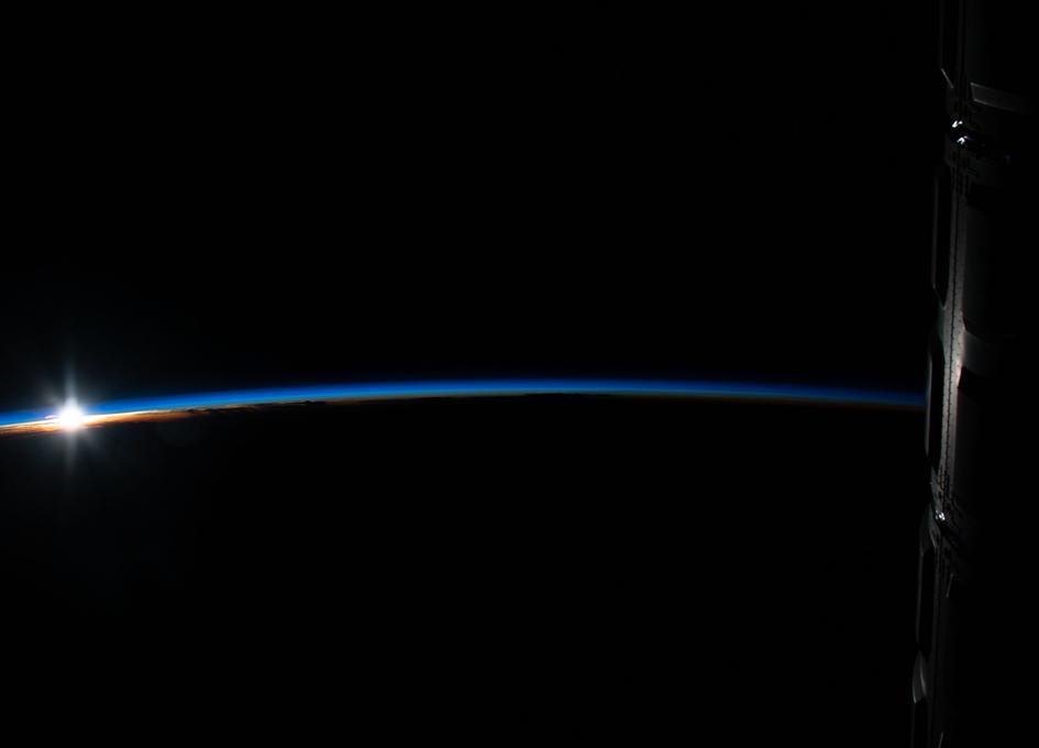 An Orbital Sunrise Over Indonesia