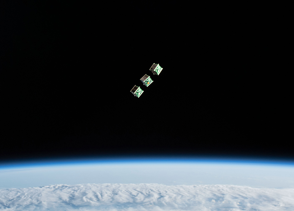 Cubesats From Nepal, Sri Lanka, and Japan Deployed From The International Space Station