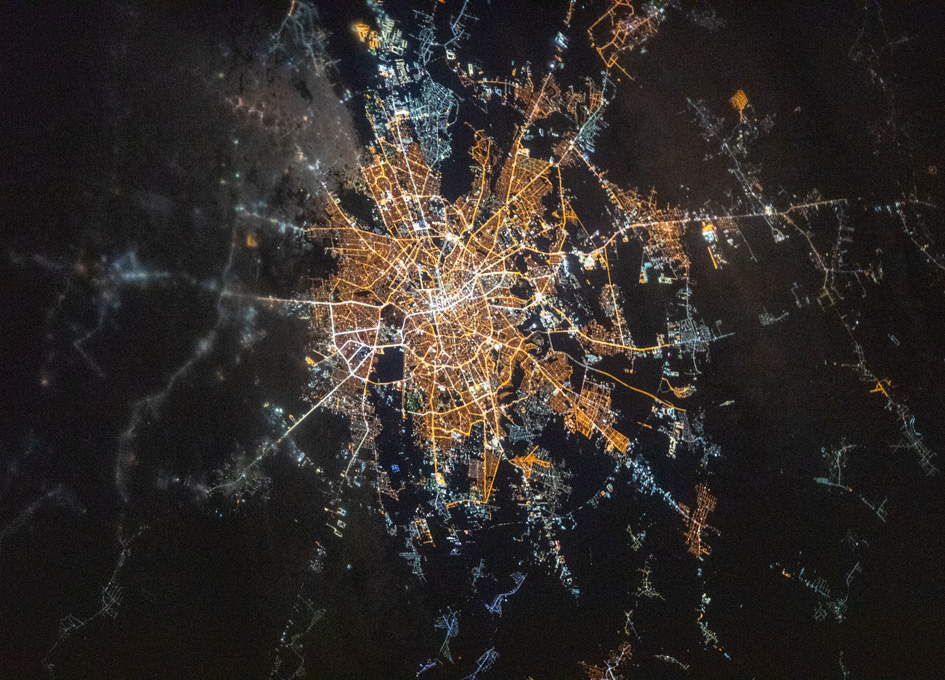 Bucharest, Romania Seen From Orbit