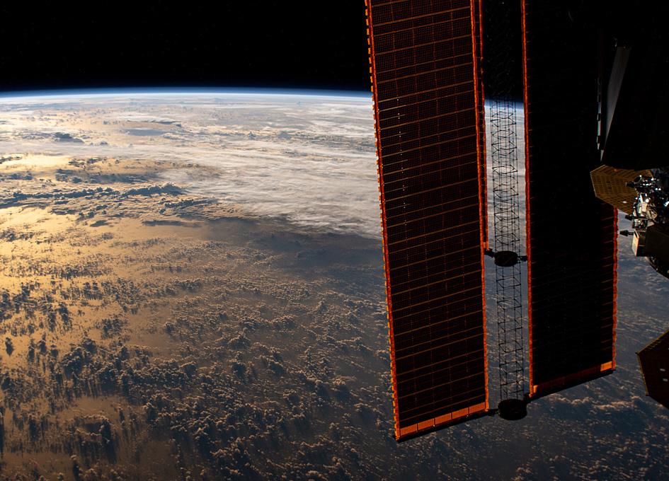Orbital Sun Glint Over The Philippine Sea