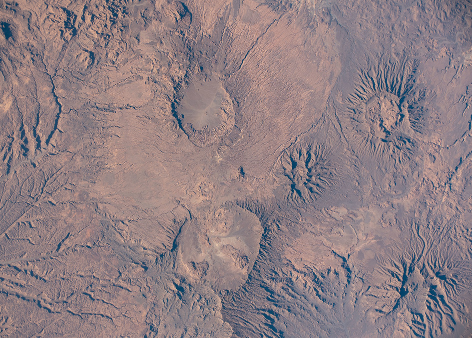 The Tibesti Mountains In Chad As Seen From Orbit