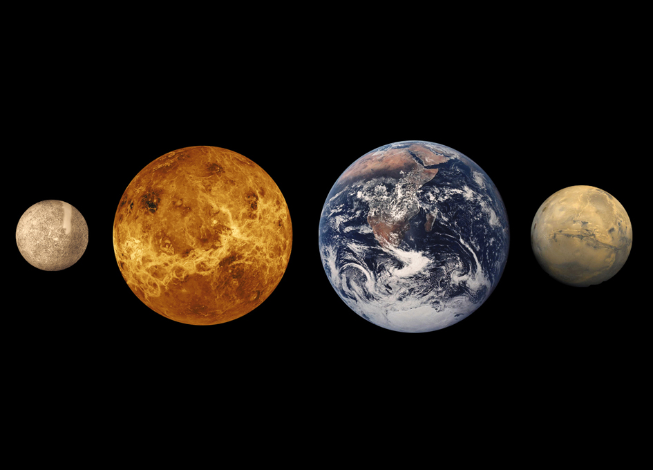Constraining the Formation of the Four Terrestrial Planets in the Solar System