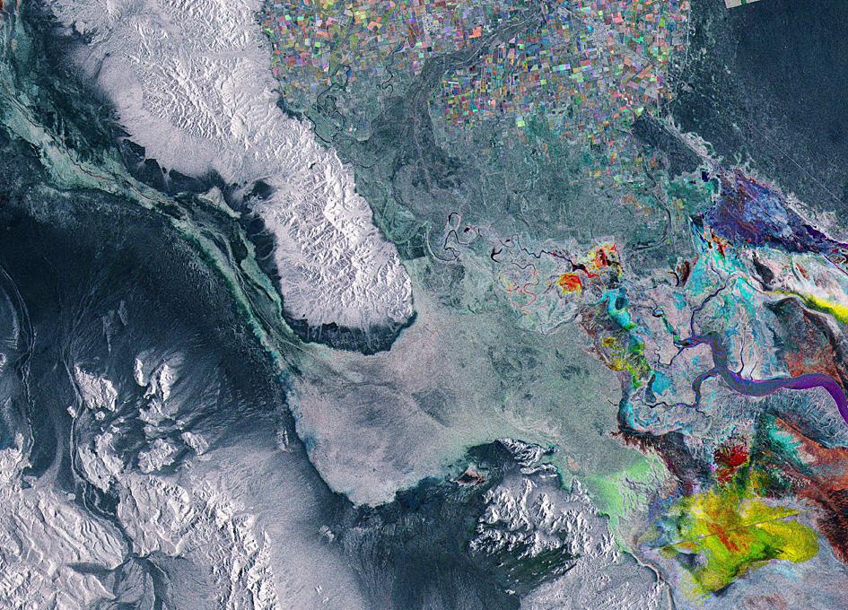 Hyperspectral Orbital Image Of Baja California