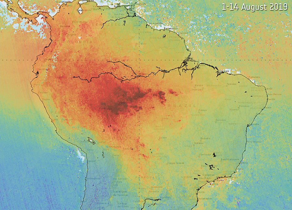 Orbital Monitoring Of Air Pollution From Fires - SpaceRef