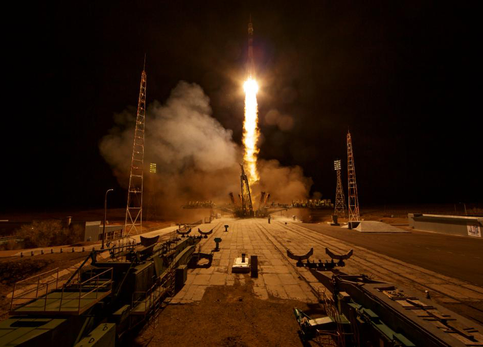 Soyuz MS-12 Leaves Earth, Arrives At ISS