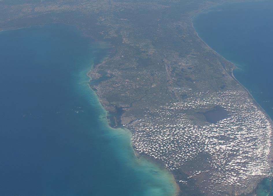 Florida Seen From Orbit