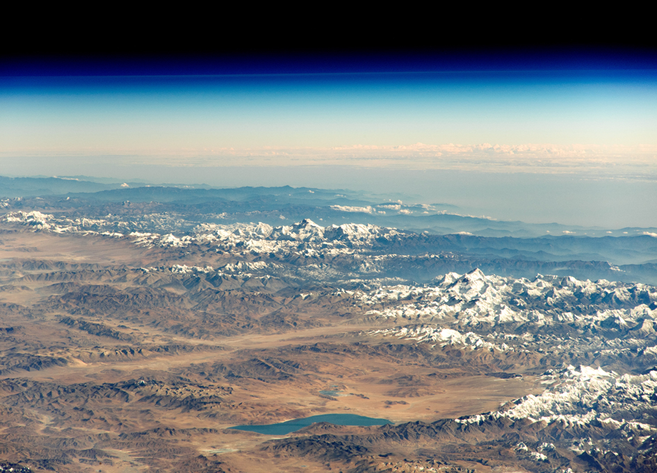 An Astronaut's View of the Himalayas