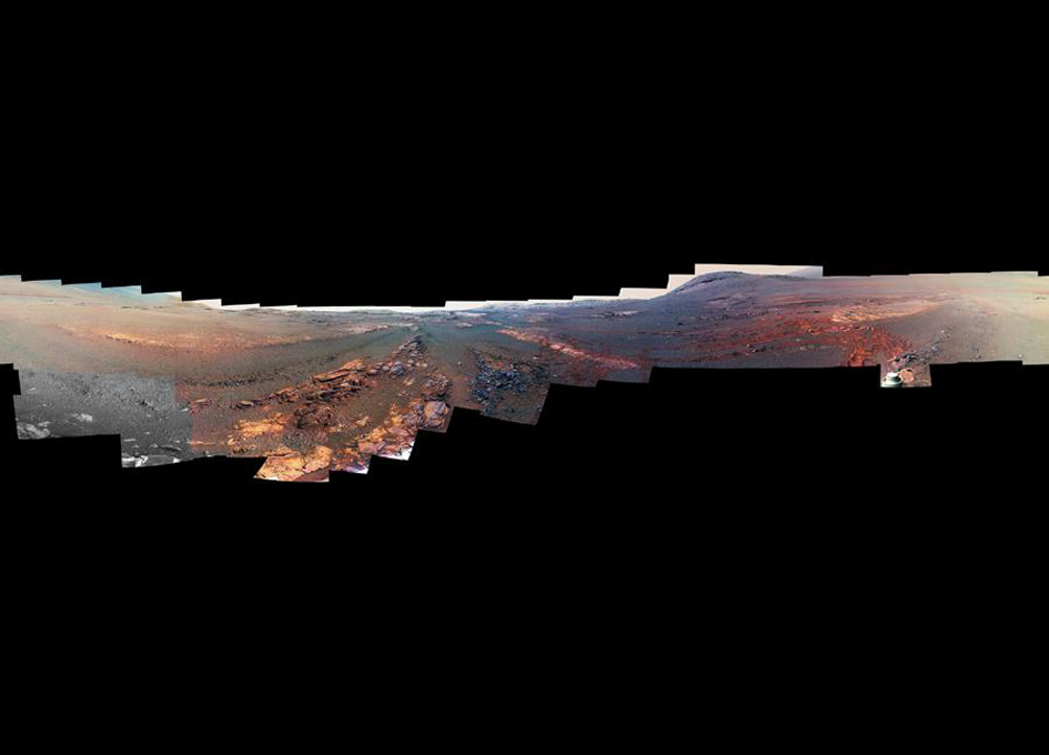 NASA release LAST BREATHTAKING image from dead Mars rover Opportunity
