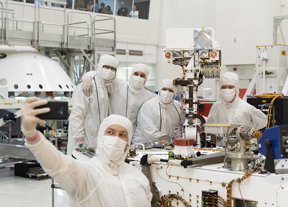 mars rover cleaning event - photo #37