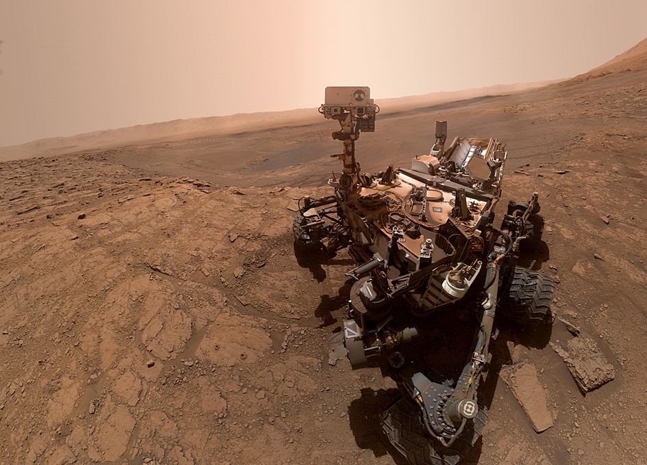 Nasa scientists reveal 'breathtaking' selfie from Mars