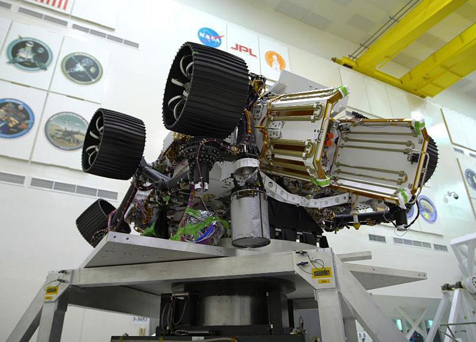 Mars 2020 Rover Spun Up For Center Of Gravity Determination
