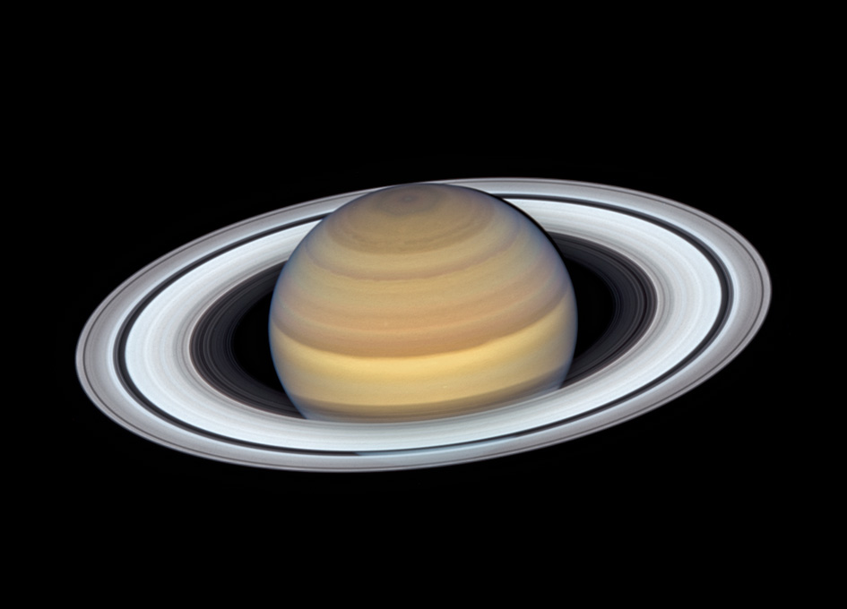 New Hubble Imagery Of Saturn