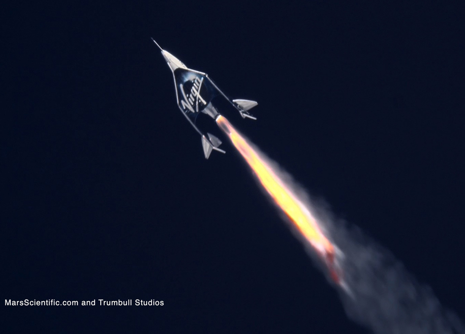 SpaceShipTwo Returns To Space With Crew Of Three