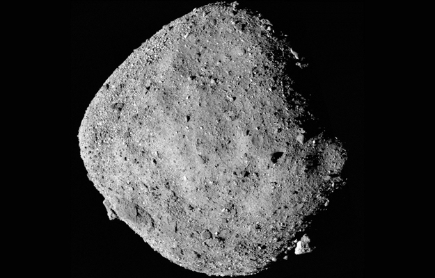 NASA probe finds water-bearing minerals on Bennu