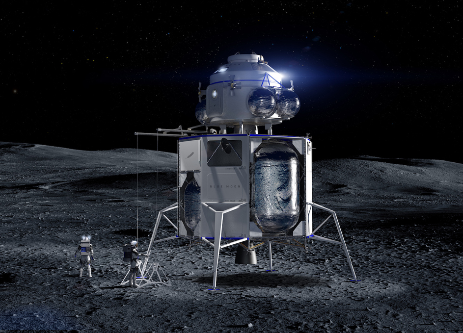 Blue Origin Reveals Its Lunar Lander
