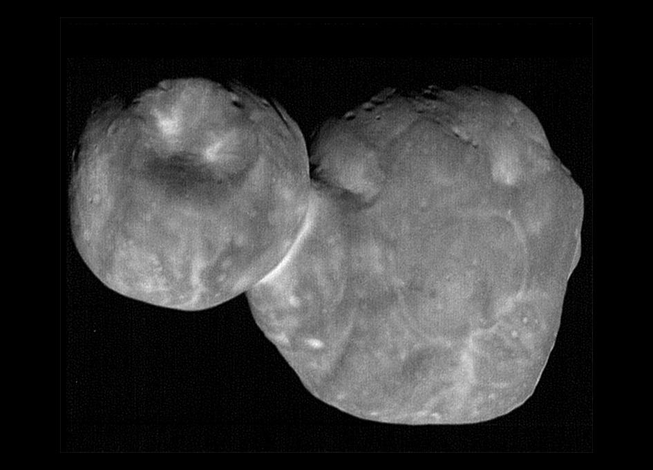 NASA spacecraft beams back sharpest images of Ultima Thule
