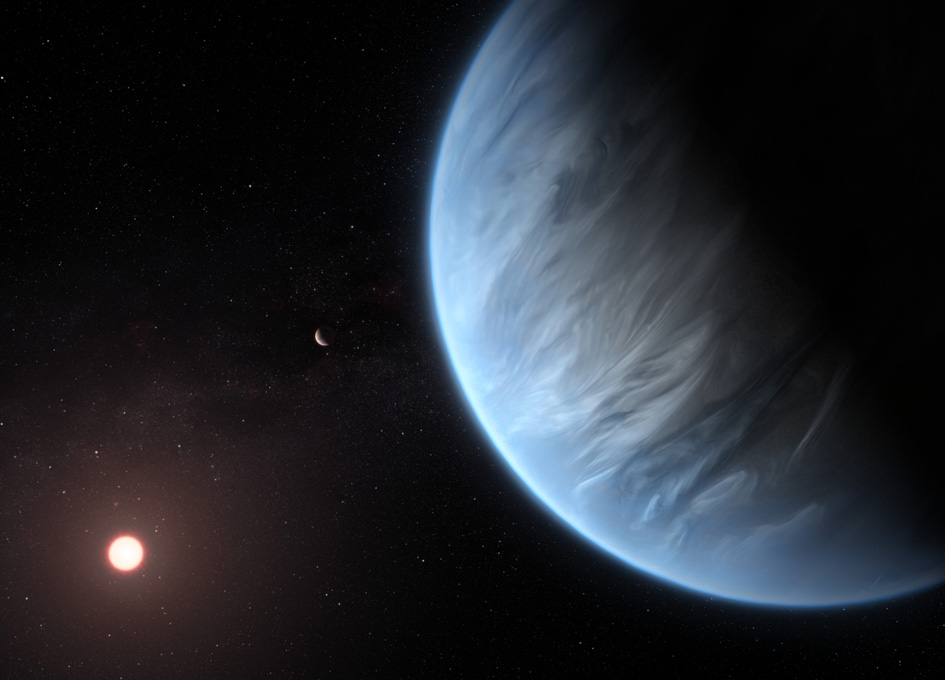 Water Gets Detected in a Potentially Habitable Exoplanet