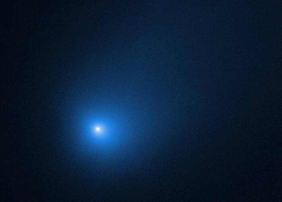 Hubble Watches Interstellar Comet Borisov Speed Past the Sun
