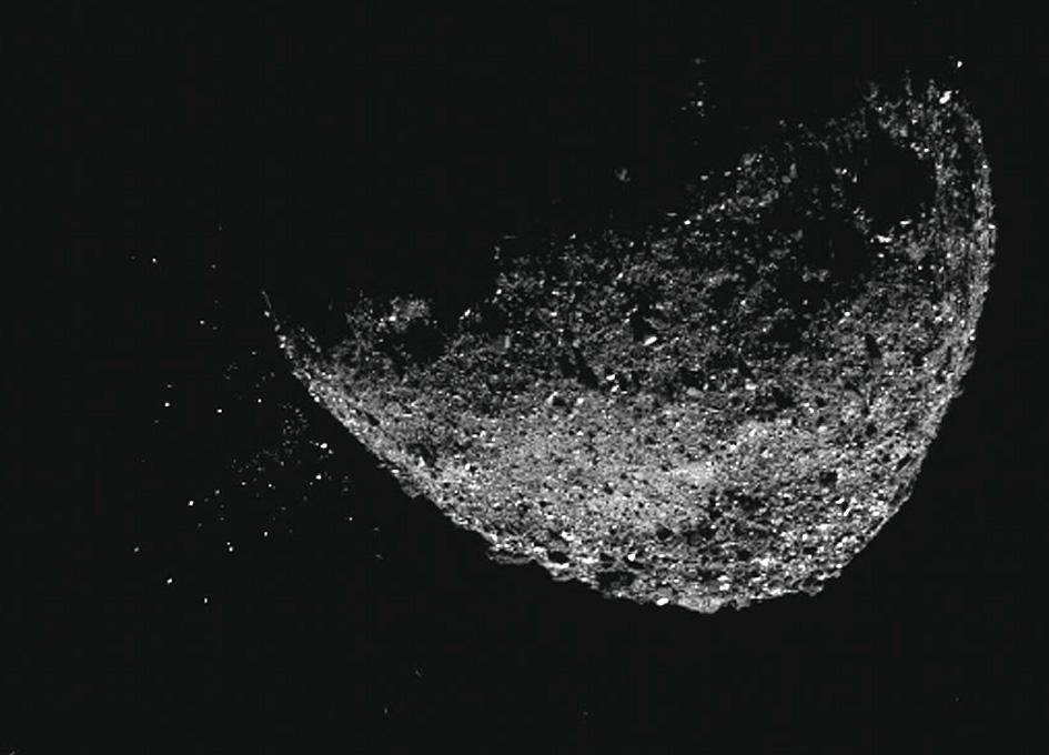OSIRIS-REx mission explains Bennu's mysterious particle events