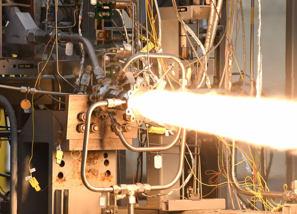 NASA and Virgin Orbit 3D Print, Test Rocket Combustion Chamber