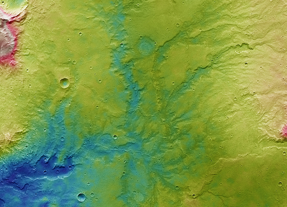See Stunning Images Of Mars Showing Where Ancient Water Once Flowed