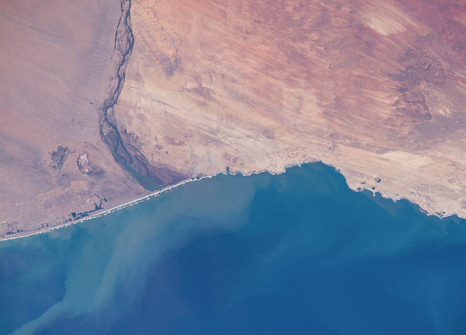 Orange River Seen From Space