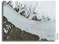 Viewing Glacier Change From Space