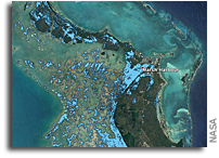 ARIA Team Maps Flooding in the Bahamas