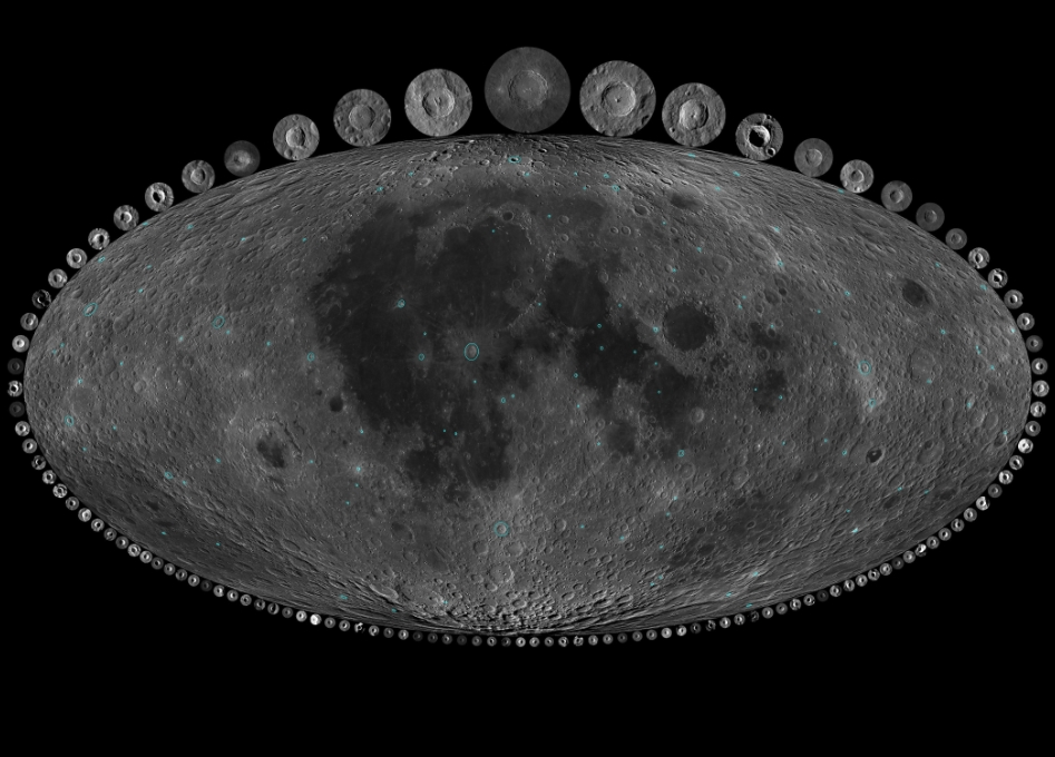 What the Moon's Craters Reveal About the Earth's History