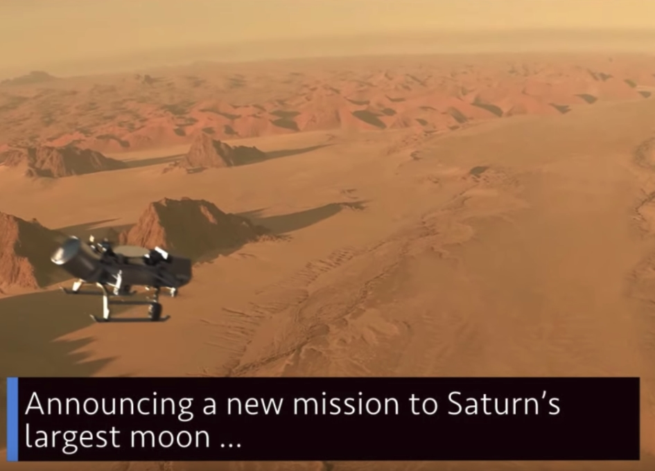 NASA unveils new mission to fly to Saturns moon Titan ...