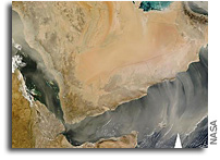 Arabian Peninsula A Trap For Summer Dust