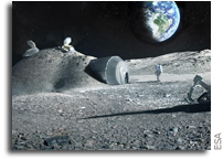 Urea From Astronaut Urine Could Be Used To Build Moon Bases