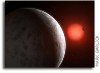 Super Earths Discovered Orbiting Nearby Red Dwarf Gliese 887