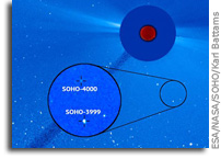 NRL Telescope Discovers SOHO 's 4,000th Comet