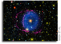 In The Mysterious Blue Ring Nebula, Scientists See The Fate Of Binary Stars