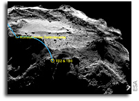 Ancient Ice on Rosetta's Comet 'Fluffier Than Cappuccino Froth'