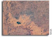 Sakakah, Saudi Arabia As Seen From Orbit