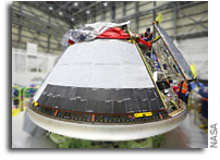 OFT-2 Starliner Gets Its Back Shells