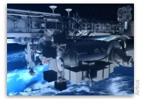 NASA Space Station On-Orbit Status 25 March 2020 - Bartolomeo Science Payload Extracted
