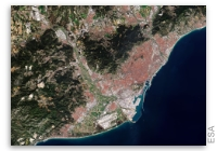 Earth from Space: Barcelona, Spain