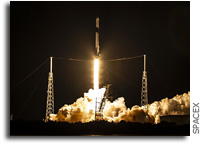 SpaceX Cargo Dragon Launched