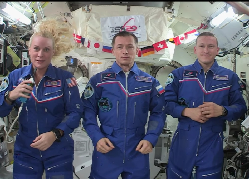 Expedition 64 ISS 20th Anniversary On Orbit Crew News Conference