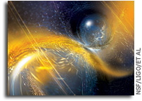 LIGO-Virgo: Gravitational Wave Network Catches Another Neutron Star Collision