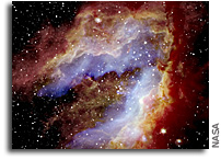 SOFIA Reveals How the Swan Nebula Hatched