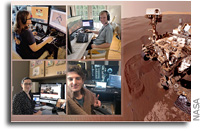 NASA's Curiosity Team Operates A Mars Rover From Home