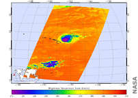 AIRS Sees Hurricane Douglas, Tropical Storm Hanna From Space
